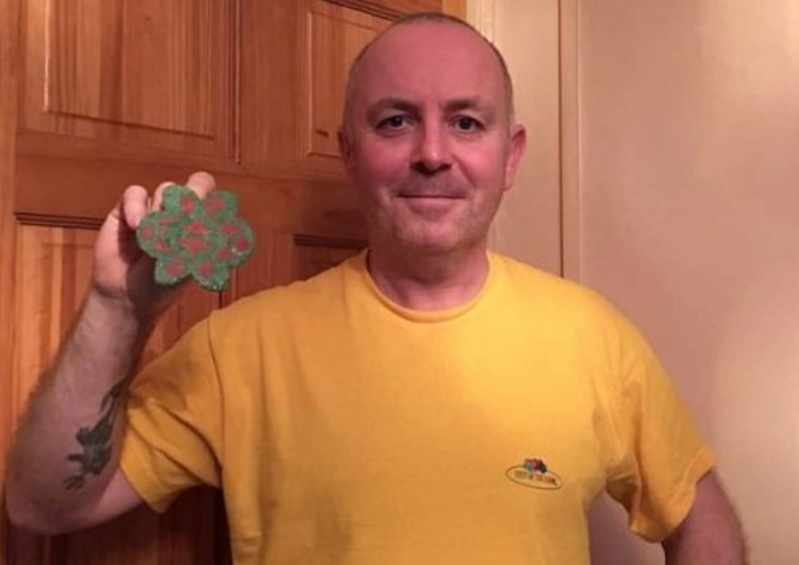 Man Finds Old Buried Chain, Then Gut Tells Him To Keep Pulling
