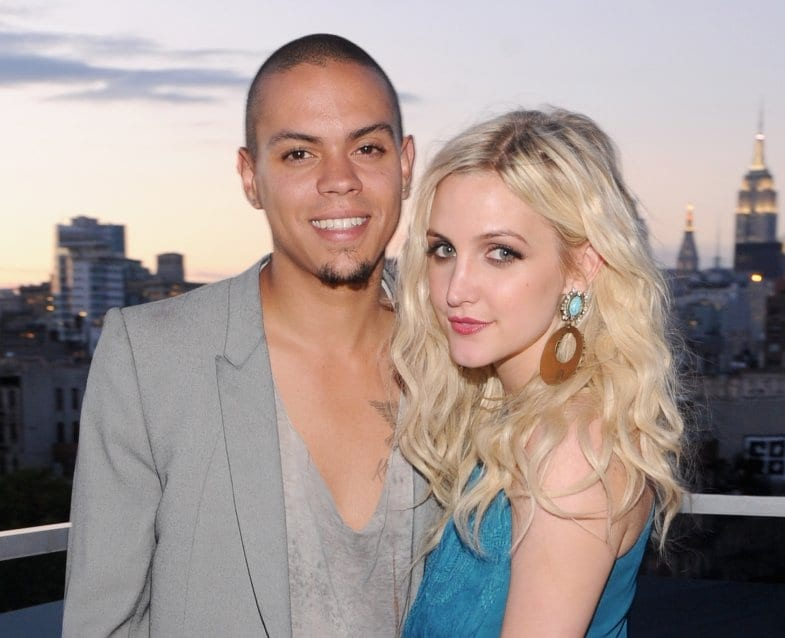 Ashlee Simpson's and Evan Ross's daughter's is named what?