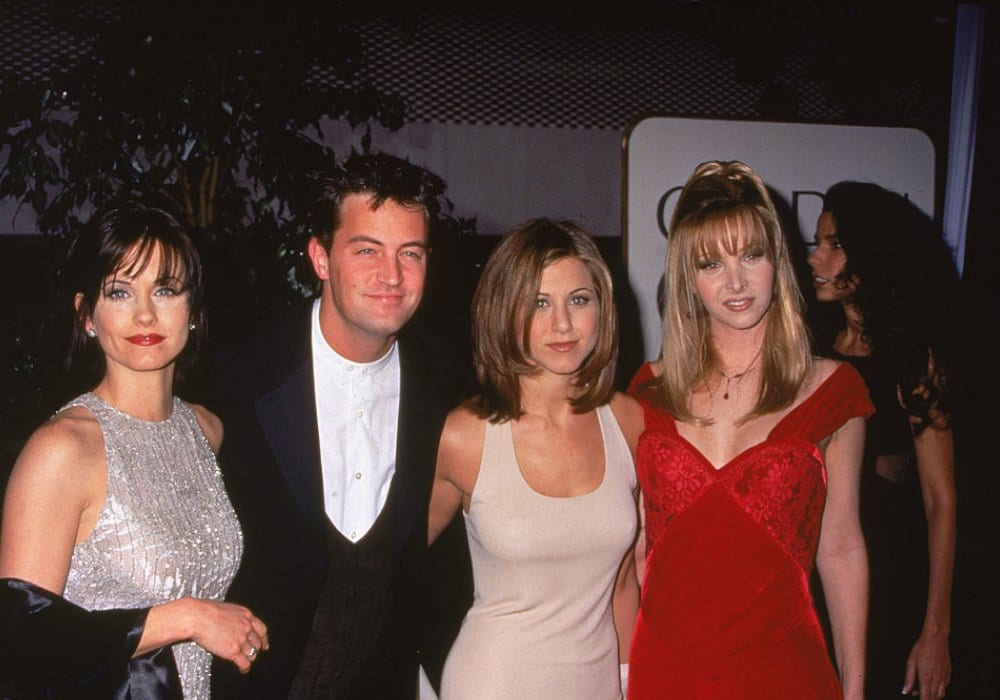 Matthew Perry Has Apparently Always Been In Love With This Friends Co-star