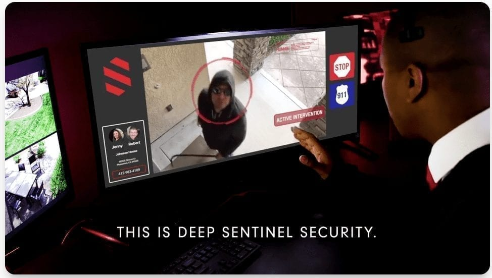 Deep Sentinel Home Security