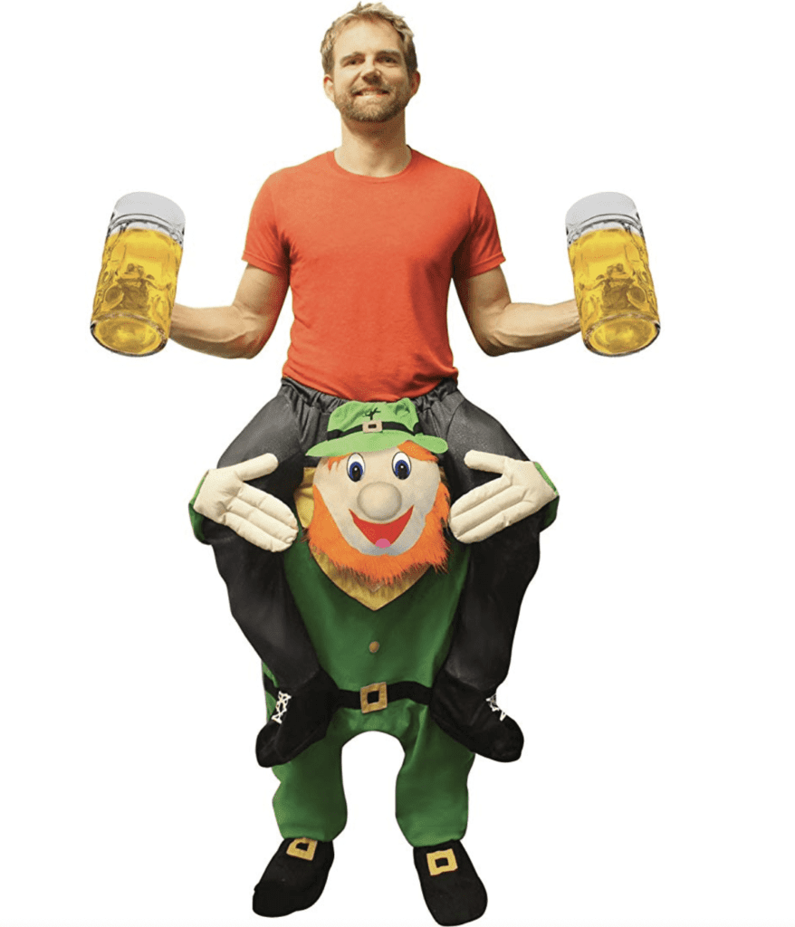 Leprechaun Piggy Back Outfit