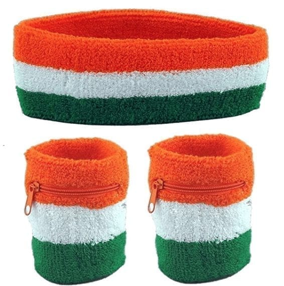Irish Flag Sweatband Set