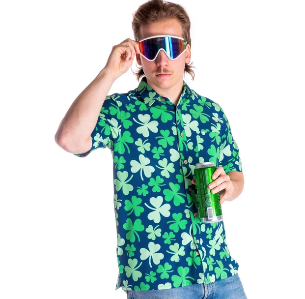 The Hawaiirish - St. Patrick's Day Hawaiian Shirt