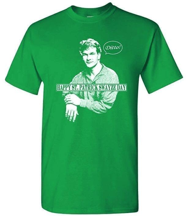 St. Patrick Swayze Funny St Patrick's Day Irish T-Shirt