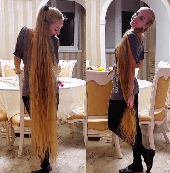 Woman Who Refused To Cut Her Hair Since She Was 5 Now Looks Like A Real-Life Rapunzel