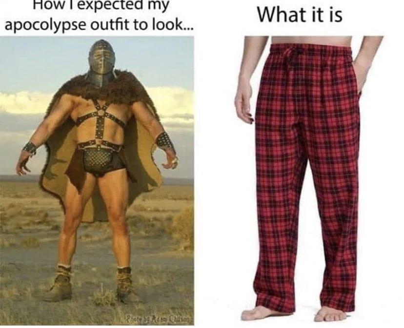 Outfit Quarantine Meme