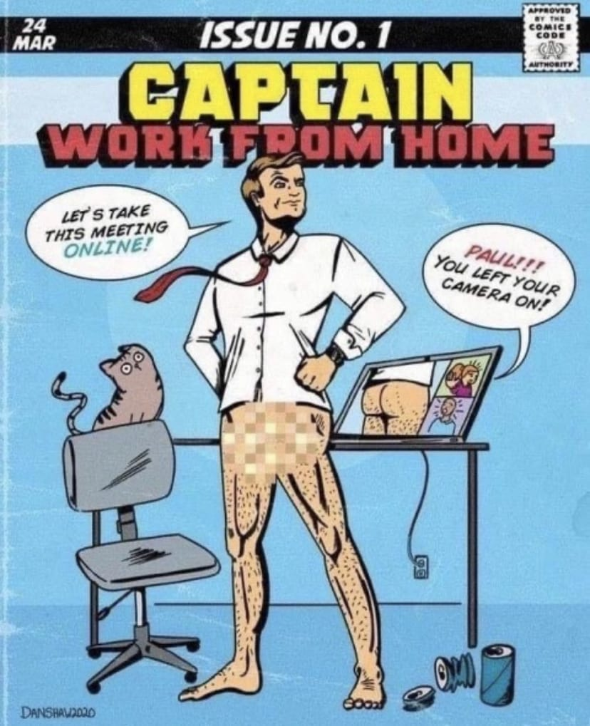 Captain Quarantine Meme