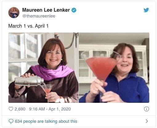 Martini Glass Quarantine Meme