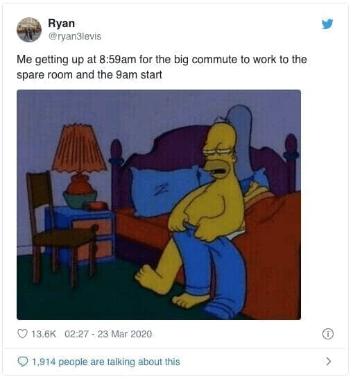 big commute Quarantine Meme