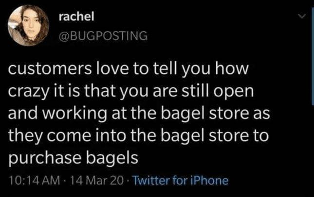 bagel Quarantine Meme