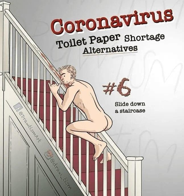 TP Alternative Quarantine Meme