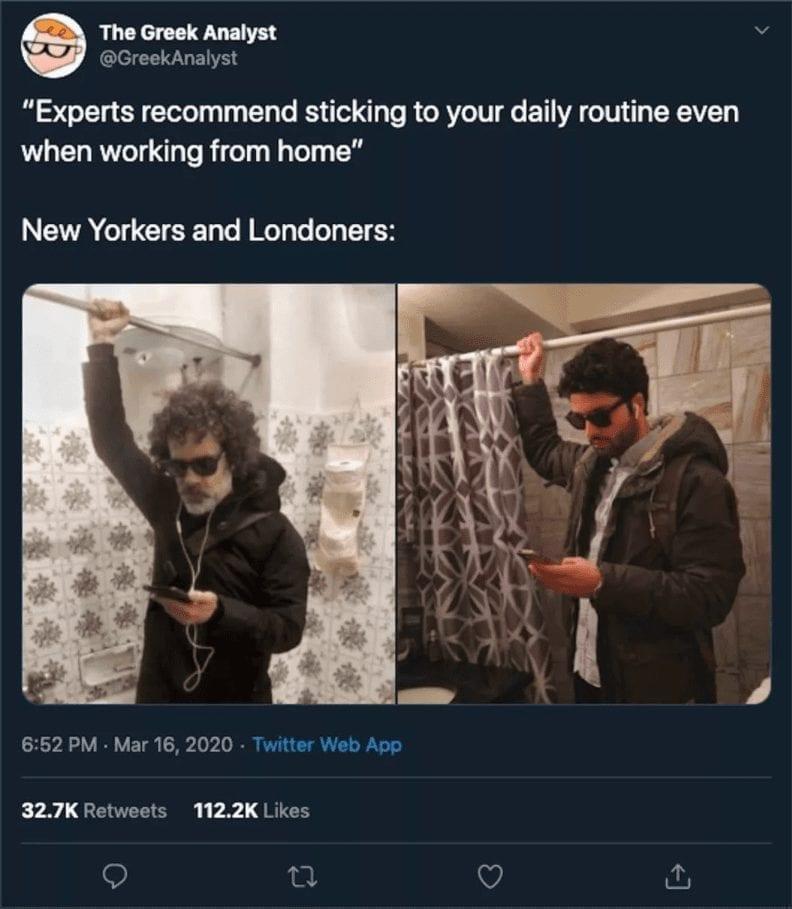 keep routine quarantine meme