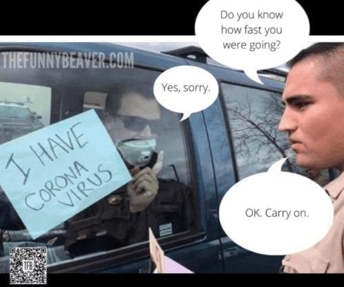 ticket quarantine meme