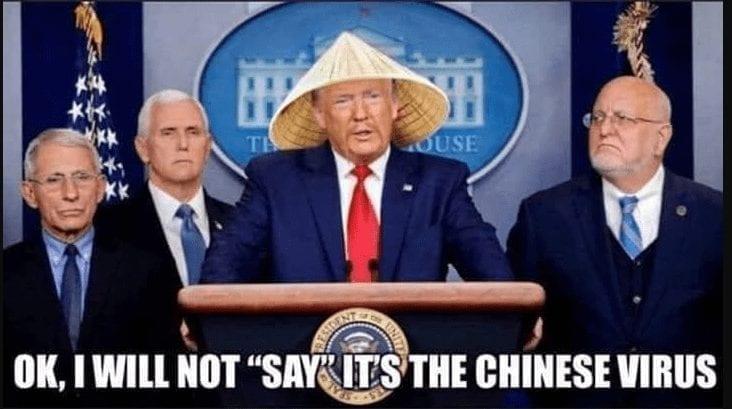 Chinese Virus quarantine meme