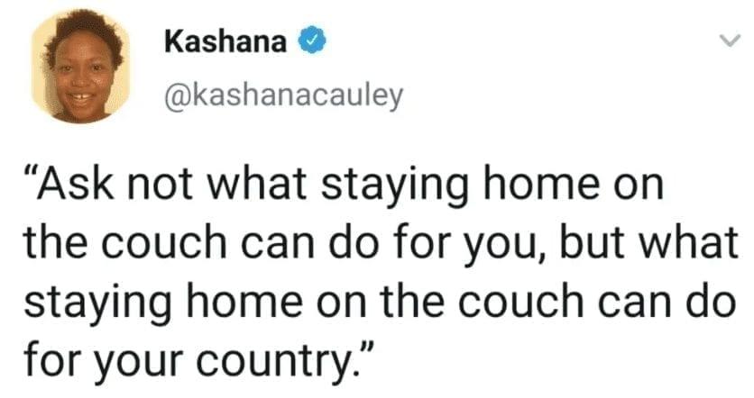 couch quarantine meme