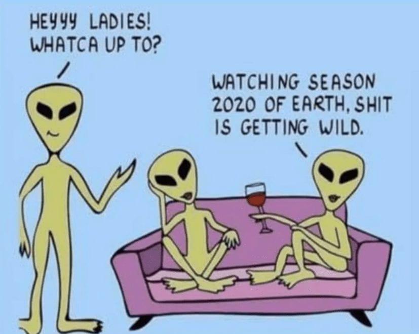 Season 2020 of Earth Quarantine Meme