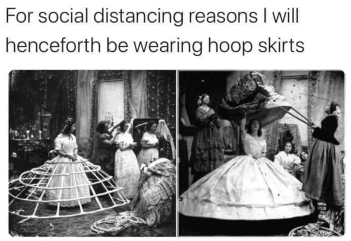 Social Distancing Coronavirus Meme