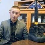 [Pics] School expels teenage boy after principal sees his memorial for veterans
