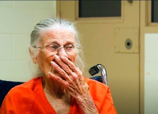 Police Officers Arrest 93-Year-Old Nan After Receiving Tip