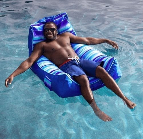 bean bag chair float