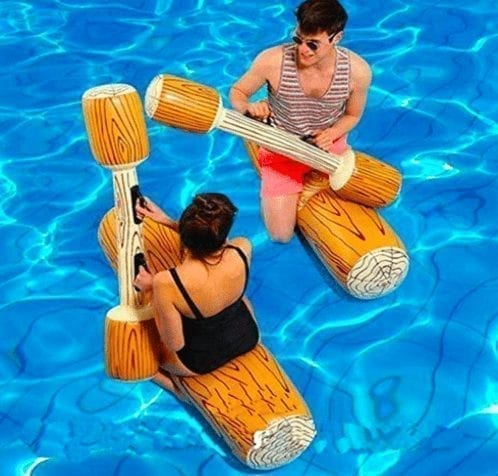 Inflatable Battle Logs