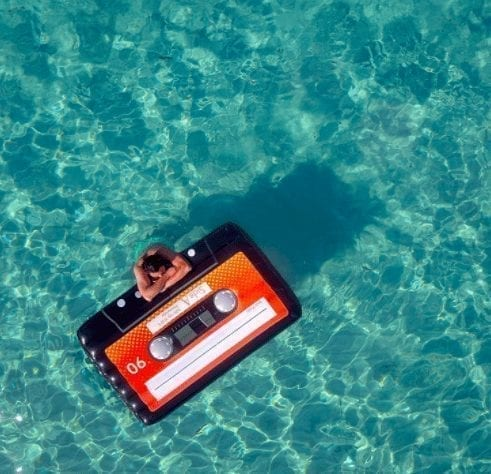 Cassette Tape Float