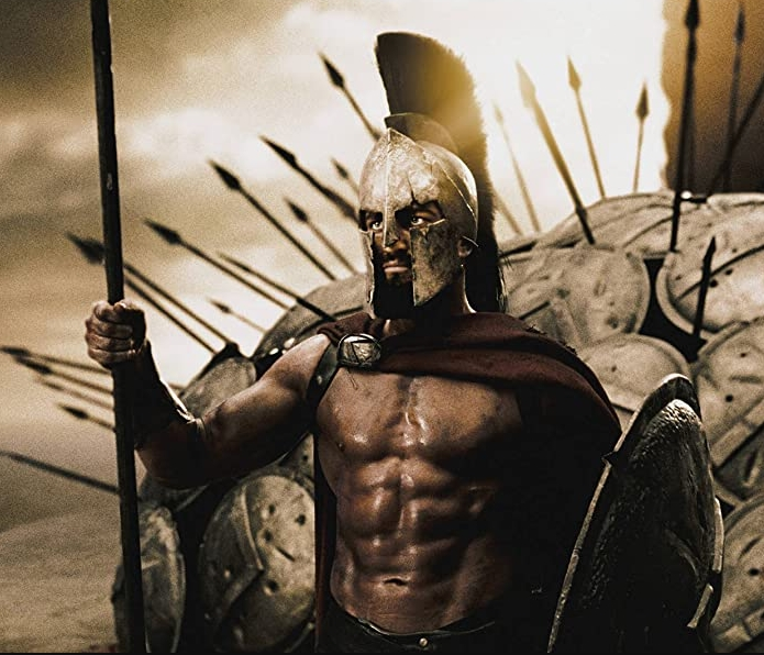 This movie takes place in Sparta, do you know the title?