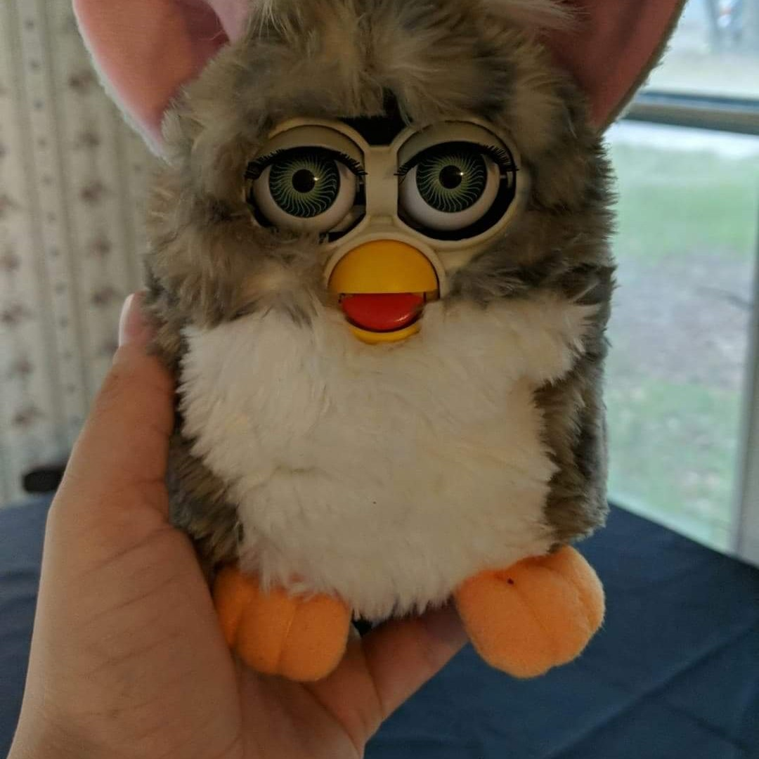 The 1998 Original Furby Tiger was sold on eBay for___
