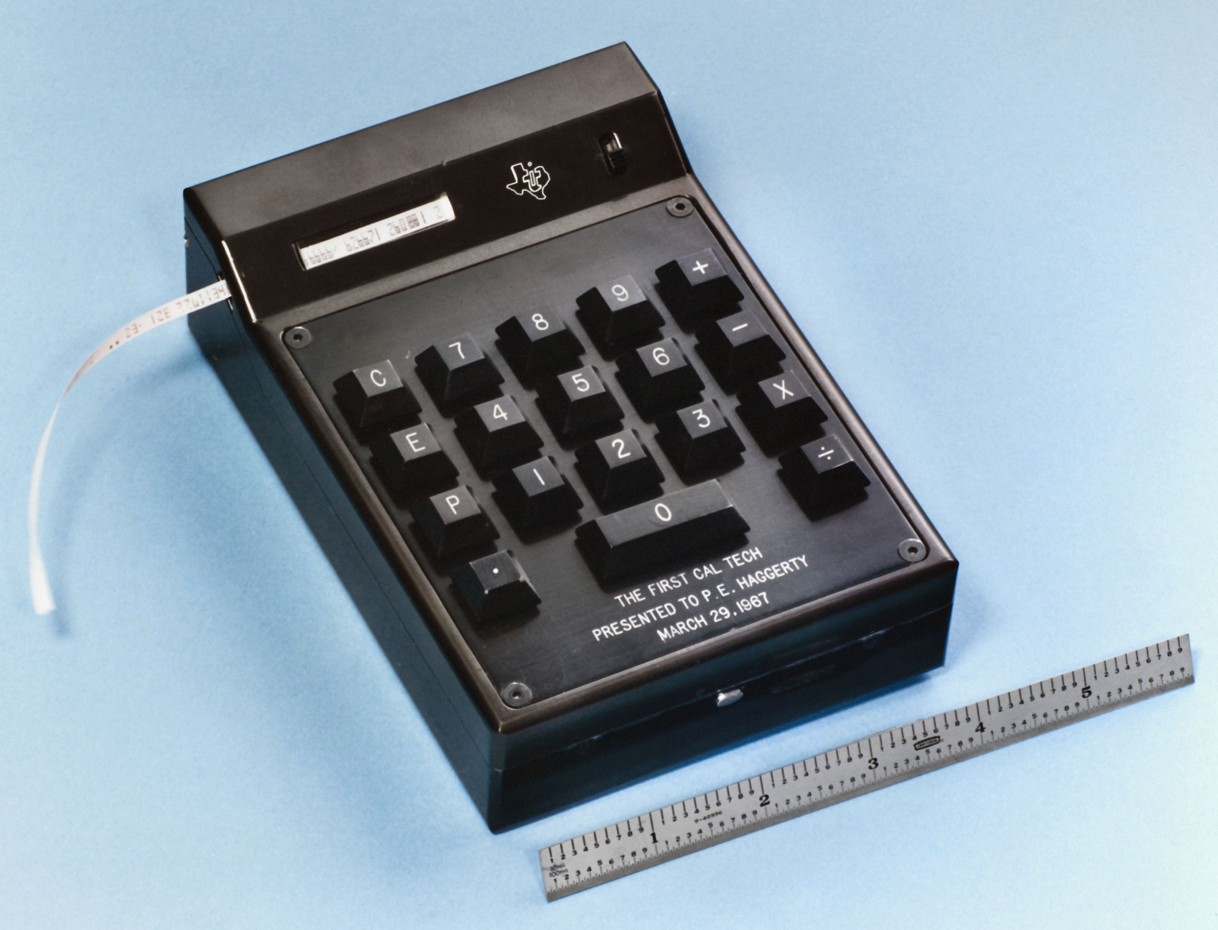 This device was invented in 1967. Do you know what it is?