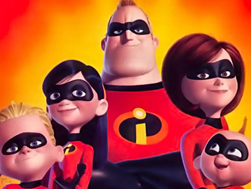 The story of a family of superheroes, do you know the title?