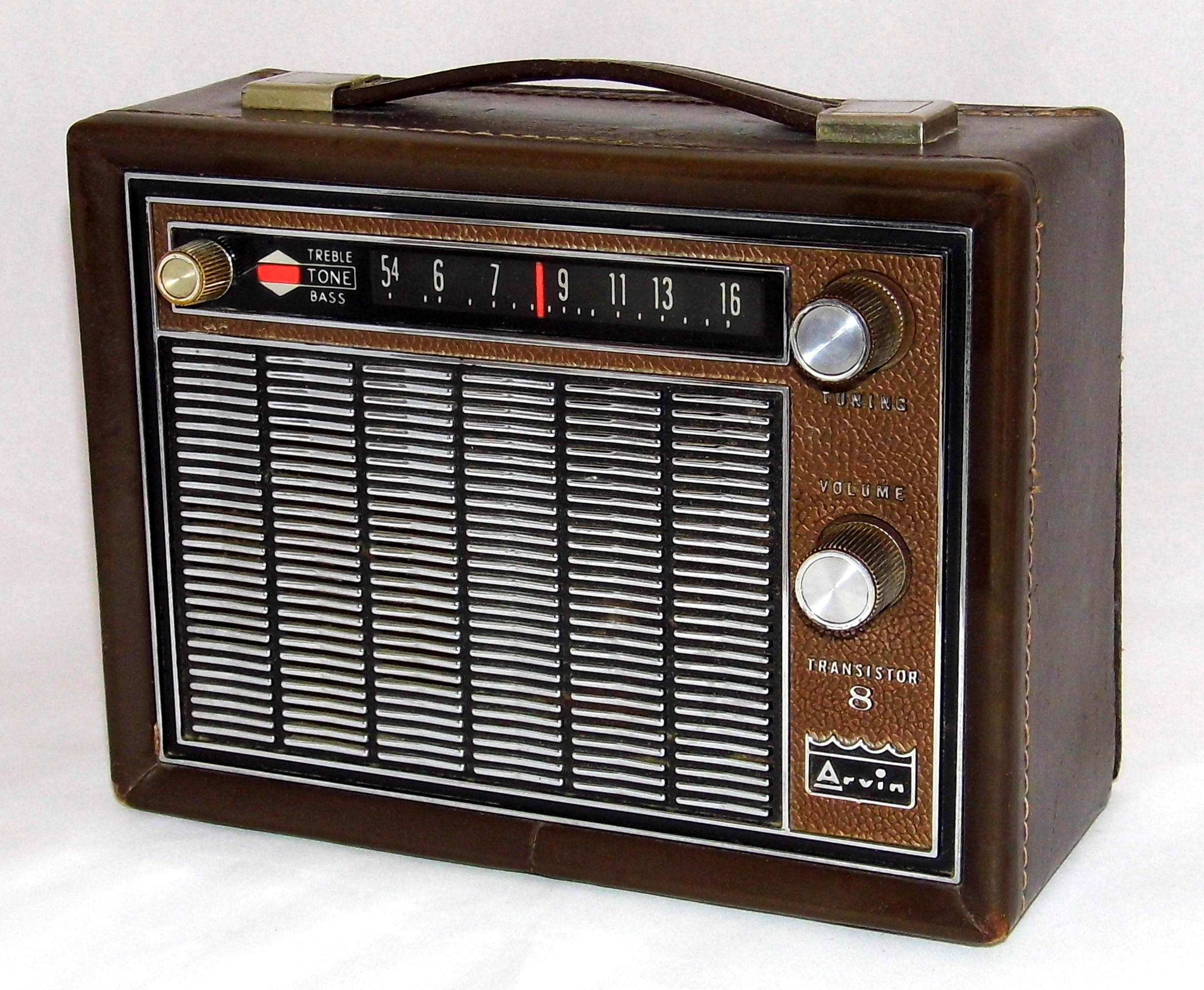 This type of radio is called___?