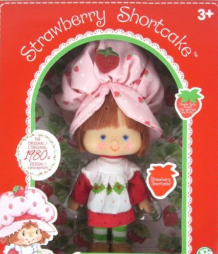 A Vintage Strawberry Shortcake Banana Twirl doll was sold for___on eBay