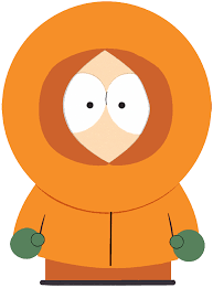 I am a main character in the South Park animated series for adults along with my friends.  I have a muffled and imperceptible speech - the result of his parka hood covering his mouth - from co-creator Matt Stone.  Who am I?