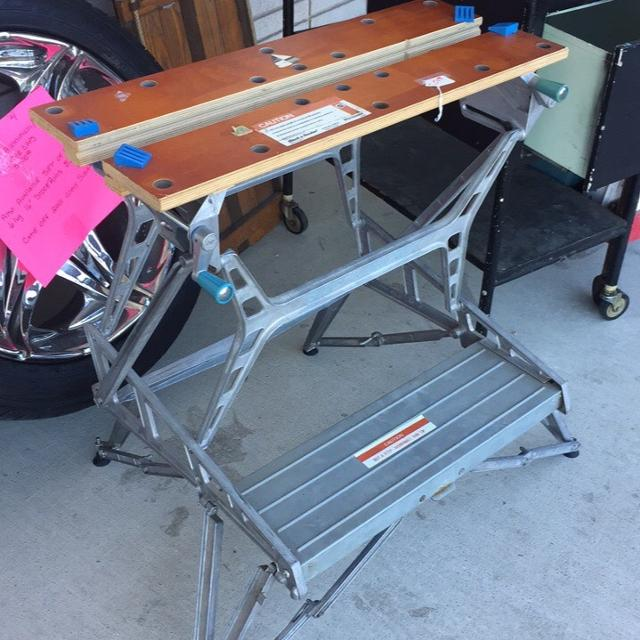 What it the name of this all-purpose work bench?