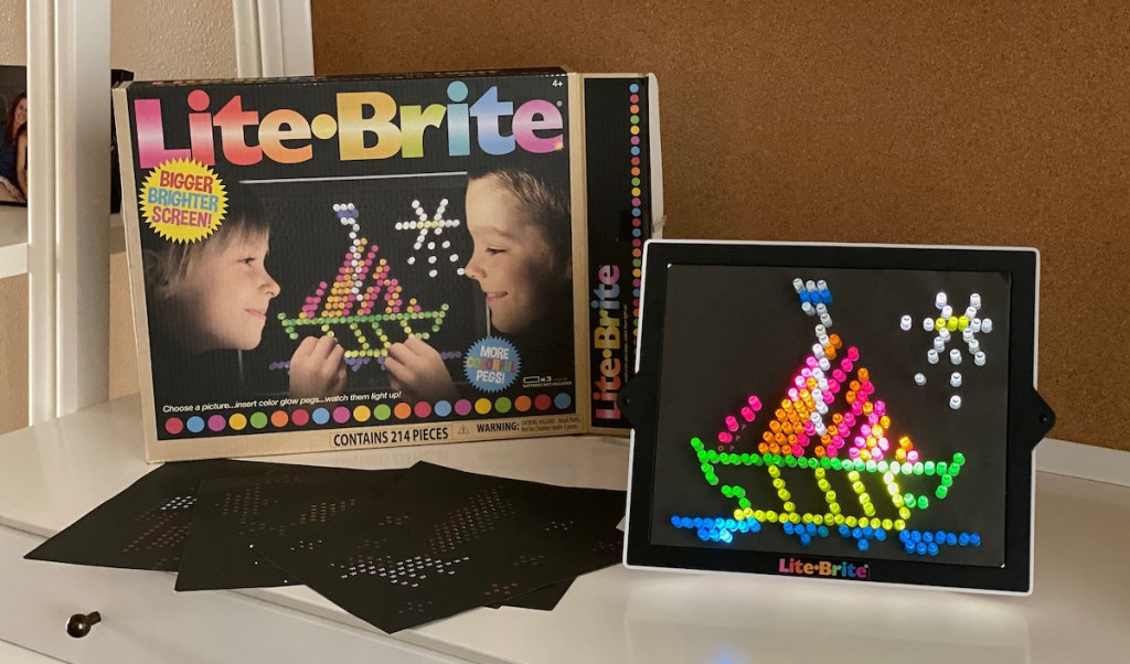 Lit Brite from the '70s and '90s is worth___today