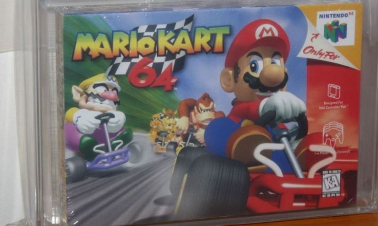 Mario Kart 64 can sell for how much?