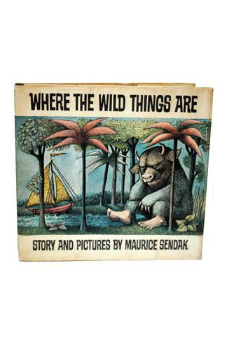 """The first edition of """"Where the Wild Things Are"""" is worth how much?"""