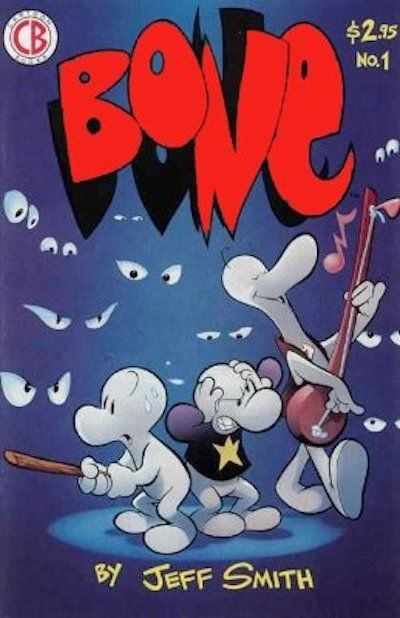 The first issue of Bone is worth up to___