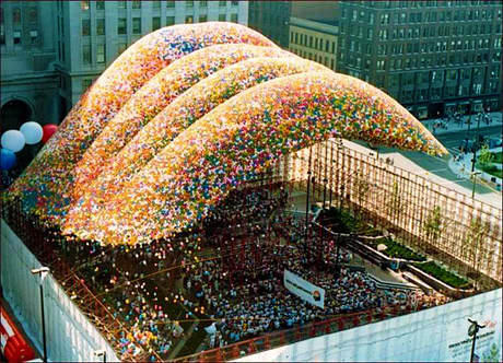 Man Releases 1.5 Million Balloons In Cleveland, Unleashes Nightmare