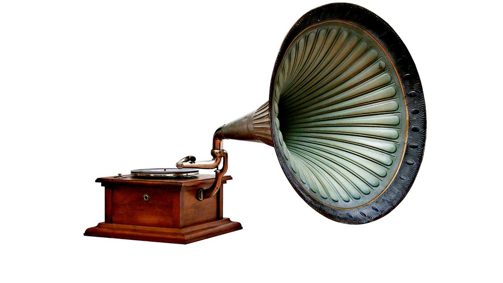 Before Bluetooth speakers and all these new music playing devices, which item was used to play music?