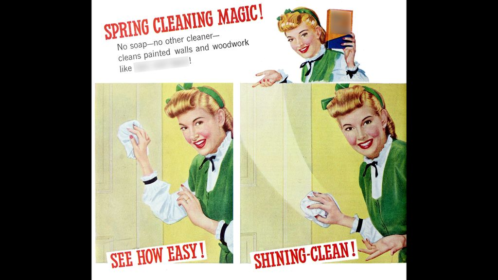 Which item was used to clean your floors?
