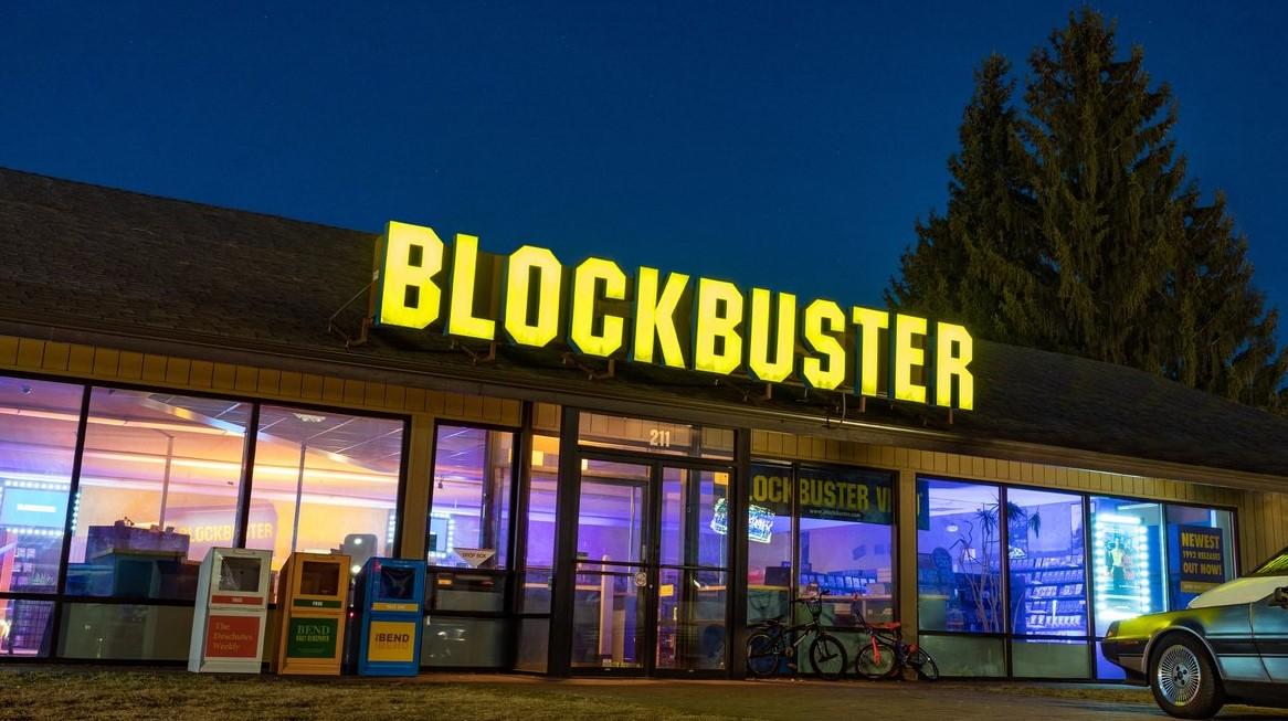 We'd borrow films from ____.
