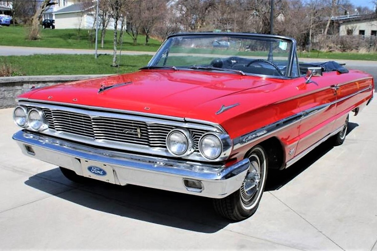 Which 1970 Ford model was popular in the US?