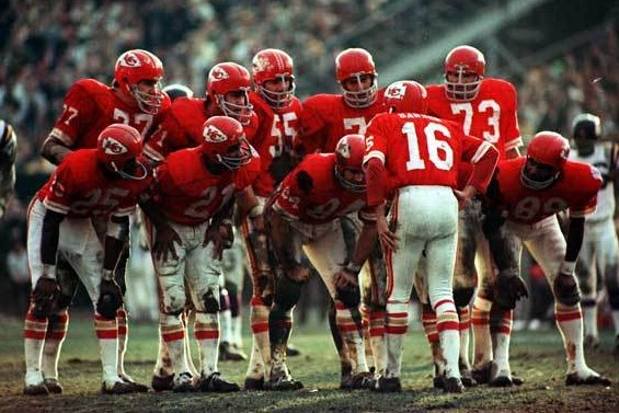 What was the name of the team that beat the Vikings in Super Bowl IV?