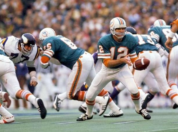 In 1973, which NFL team became the first and only undefeated team in league history?