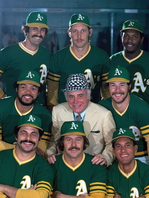 Which pro baseball team won three consecutive World Series titles in the 1970s?