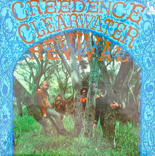 What does the band, Creedence Clearwater have the record for?