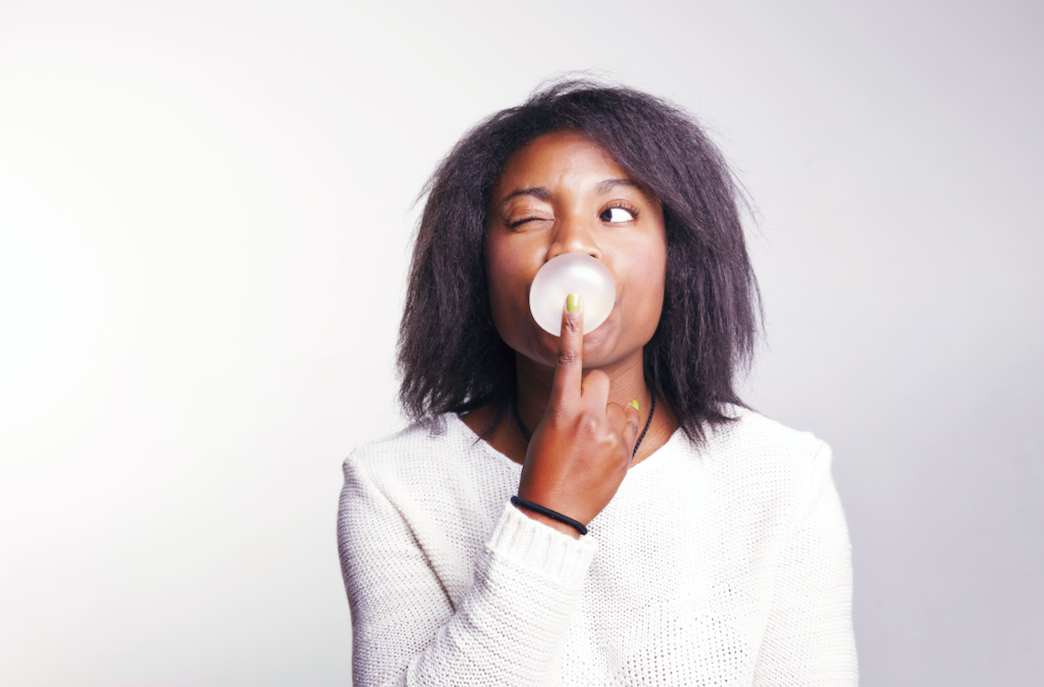 Chewing gum can boost what?