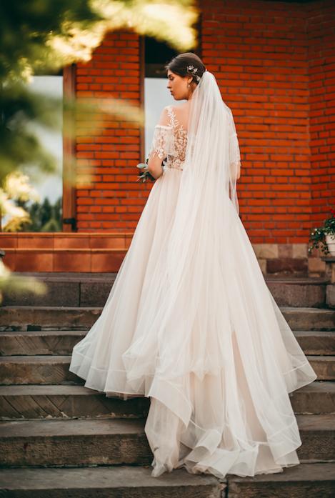 How long is the longest wedding veil?