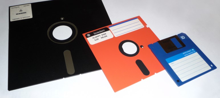 We used to store all of our computer-generated data on these, but what was it?